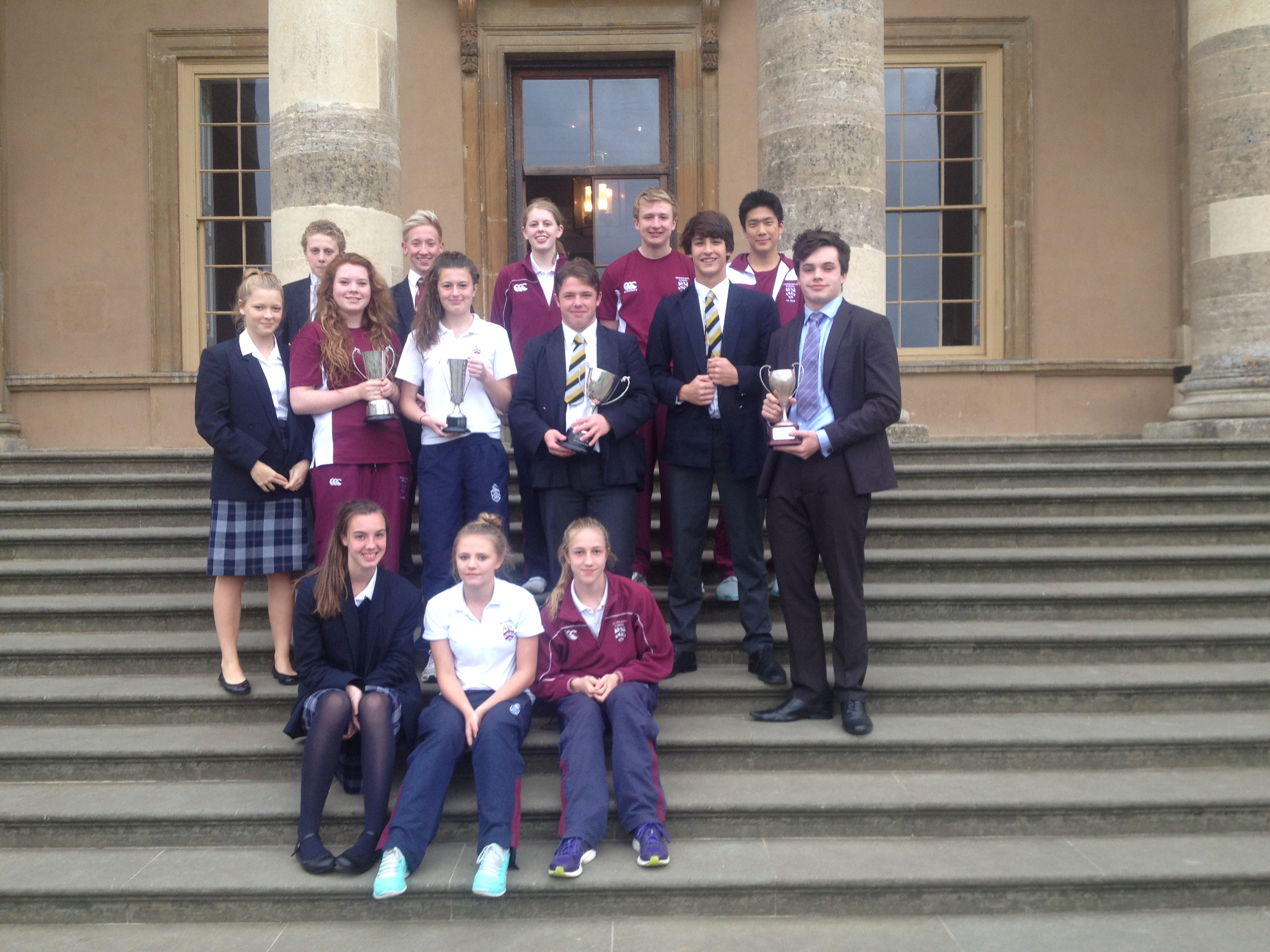 Swimmers have a successful time at the Stowe School