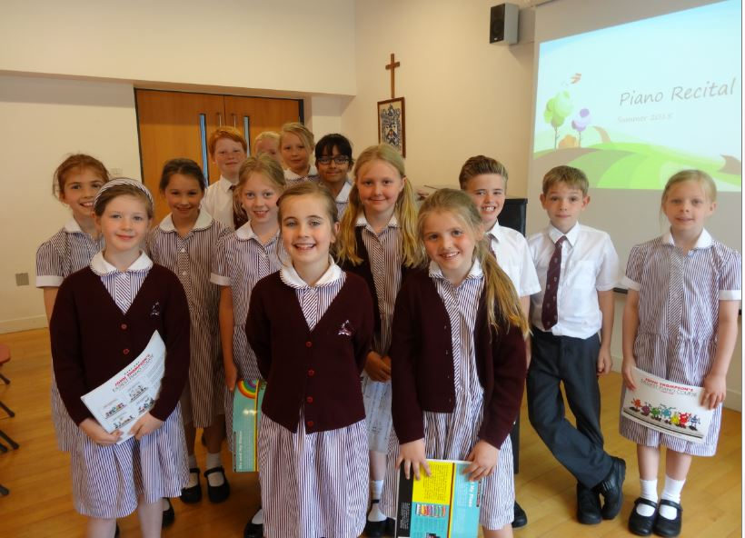 Years 3, 4 and 5 Piano Recital (June 2015)