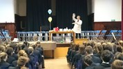 The Fourth Form welcomed Nick Barker from the Chemistry department at Warwick University.