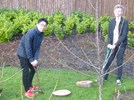 Senior Pupils have been putting their gardening skills to the test at Page House.